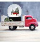 Coolsnowglobes - Snow Globe, Red Truck