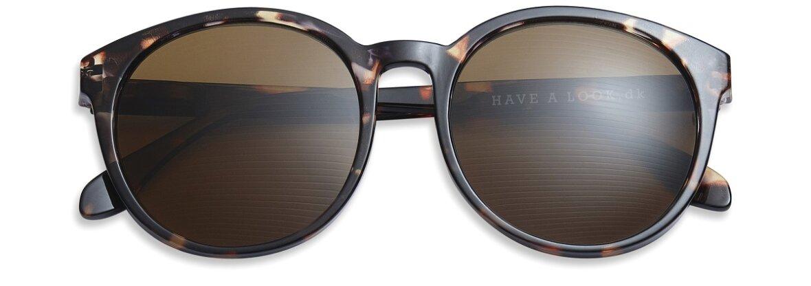 Solbrille med styrke, Diva Horn