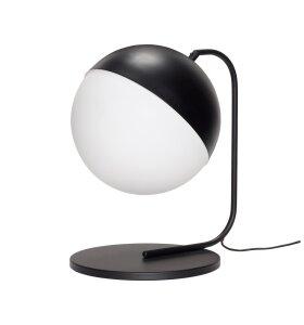 Hübsch - Bordlampe, Sort/hvid