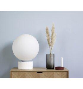 Hübsch - Gulvlampe, marmor/glas - hent selv.