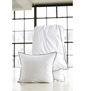 SEMIBASIC - Sengesæt hvid/grå, 220x240, King-size