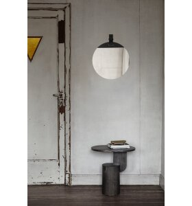 ferm LIVING - Spejl Enter Large, Sort
