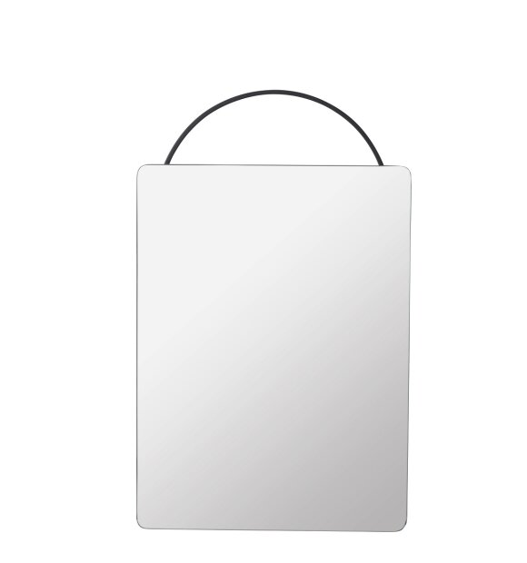 ferm LIVING - Adorn spejl sort, Face