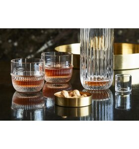 Malling living - Bar Glas lavt, 2 pack