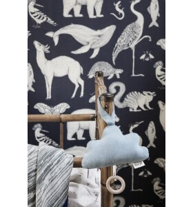 ferm LIVING Kids - Cloud musikmobile, Denim