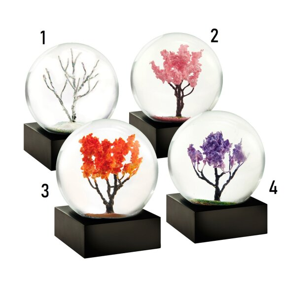Coolsnowglobes - Season Mini Snow Globes
