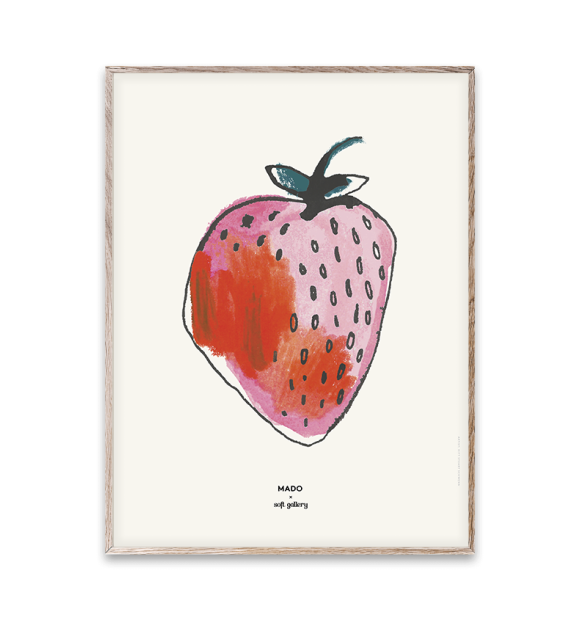 Paper Collective - Strawberry 30x40