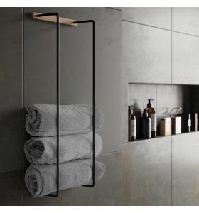 by Wirth - Towel Rack, Fl. varianter