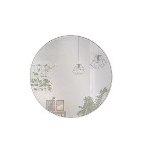 INCADO - White Circle spejl Ø80 - Hent selv!