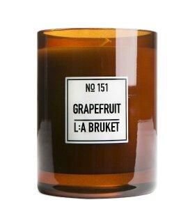 L:A Bruket - Duftlys no151, Grapefrugt