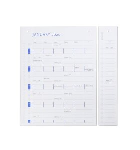 by Wirth - Refill til kalender 2020/21
