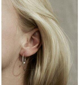 Trine Tuxen - Ørering Spiral IIII Opal/Guld, 1 stk.