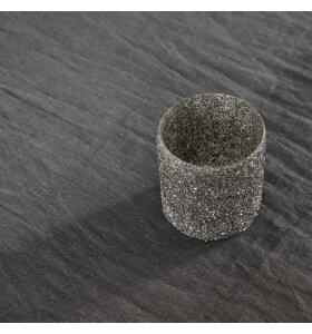 House Doctor - Fyrfadsstage Gliz sølv, 6,5*8