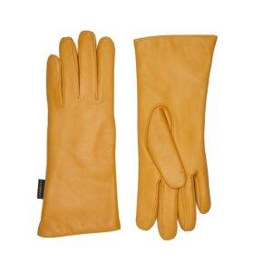 Randers Handskefabrik - Handske lammeskind, Gul