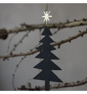 House Doctor - Juletræer med stjerne, 3 stk.