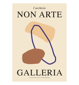 Nynne Rosenvinge - Non Arte Galleria 70x100