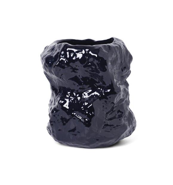 ferm LIVING - Tuck vase, Blå