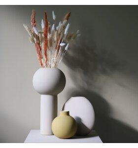COOEE design - Collar Vase Ø:12, Okker