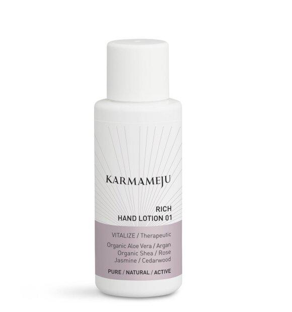 Karmameju - Hånd lotion 01 Rich, lille str. til lommen