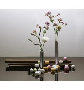 ByHolmer - Slim Vase Rustfri, 17cm.