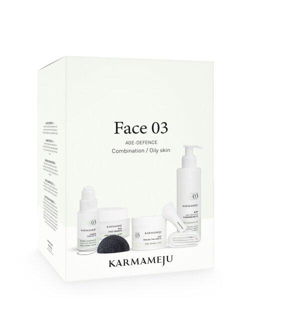 Karmameju - Gaveæske Face 03 - Værdi 1.557,   Nu kun 799,-