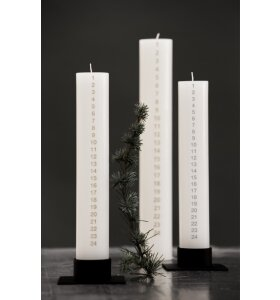 KunstIndustrien - Kalenderlys julerød 5x30cm