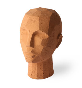 HK living - Abstract Head, Terracotta