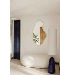 ferm LIVING - Pond spejl Messing, L - Hent selv