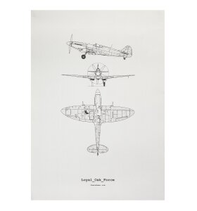 The Oak Men - Plakat Loyal Airforce
