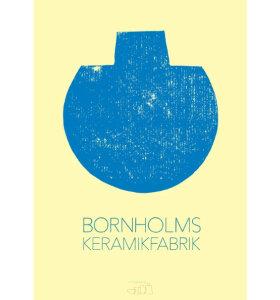 Bornholms Keramikfabrik - Factory Print - flere farver..