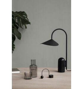 ferm LIVING - Ripple karaffelsæt Smoked, Small