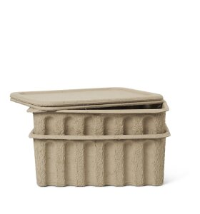 ferm LIVING - Paper Pulp Box, Large 2 stk.