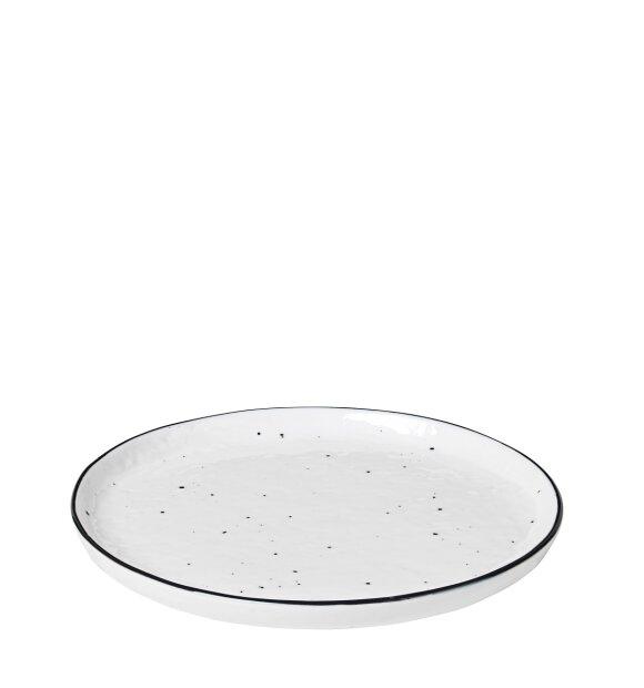 Broste Copenhagen - Desserttallerken Salt m prikker
