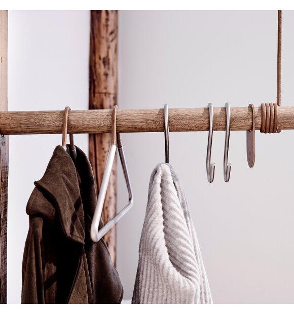 LindDNA - Wall swing naturfarvet læder/træ