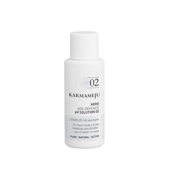 Karmameju - pH Solution 02 HERO, Rejsestørrelse