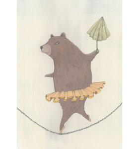 Kirstine Falk - Dancing Bear A3