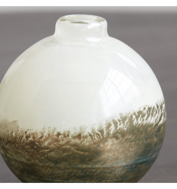 House Doctor - Vase Earth Beige/Metallic, H:11,4
