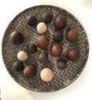 Trine Find - Mywoodfaberge - massivt egetræs æg, natur