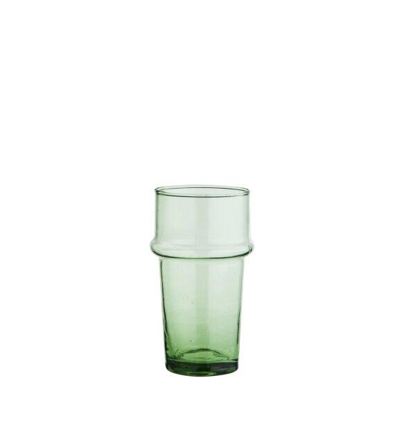 Madam Stoltz - Beldi mundblæst glas, Grøn
