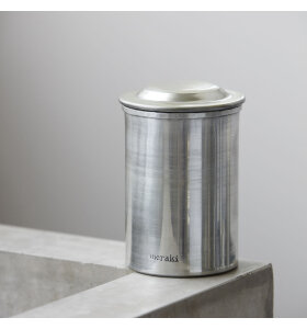 meraki - Krukke med låg sølvfinish, Lille