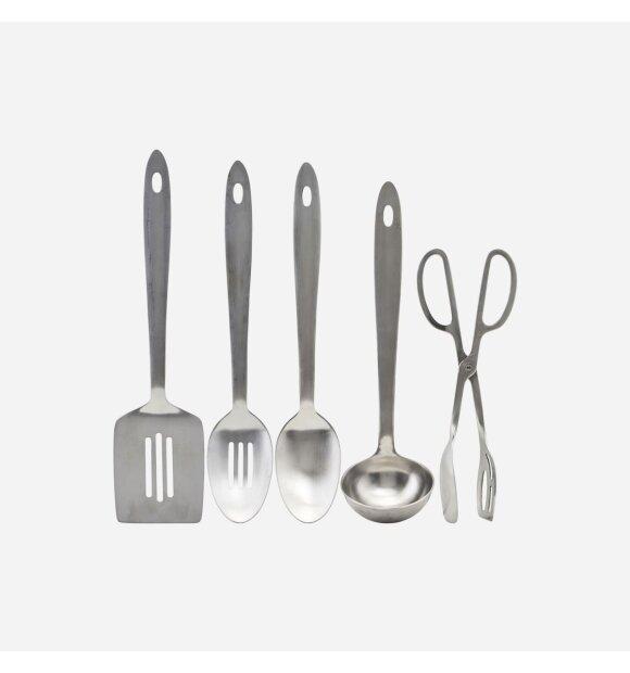 House Doctor - Take køkkenredskaber, Sølvfinish