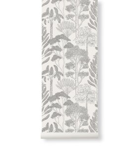 ferm LIVING - Tapet Katie Scott, Trees Off White