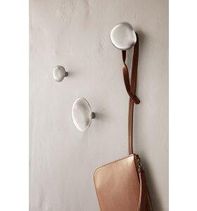 ferm LIVING - Mushroom Hook, Rustfrit stål - Helena Rohner design