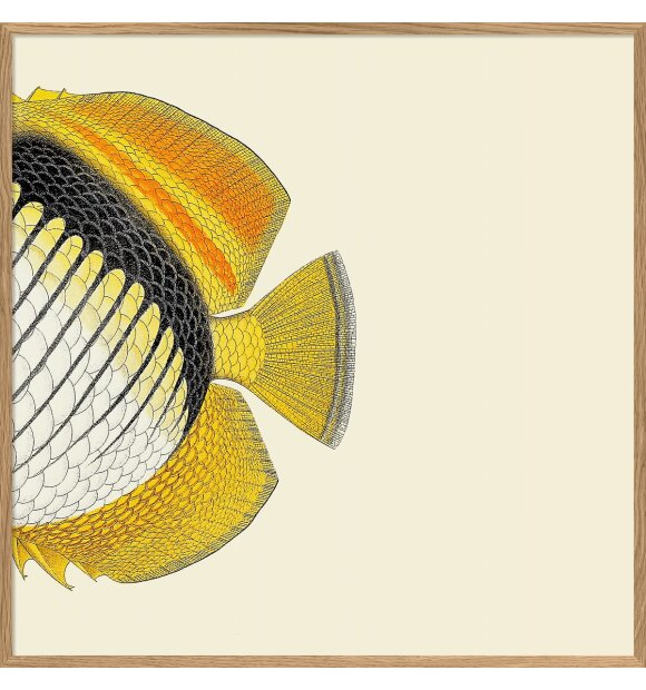 The Dybdahl Co. - Yellow Fish Tail #5607, 30*30