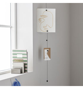 MONOGRAPH - Cable photo display, Sort