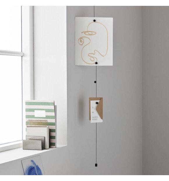 MONOGRAPH - Cable photo display, Sort