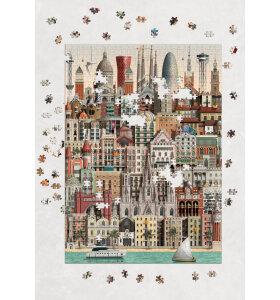 Martin Schwartz - Puslespil Barcelona 1000 brikker