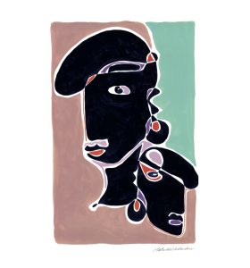 By Mathilde Vesterskov - Plakat Samsara, 70*100