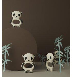 OYOY Living Design - Bidering Panda, Råhvid/sort