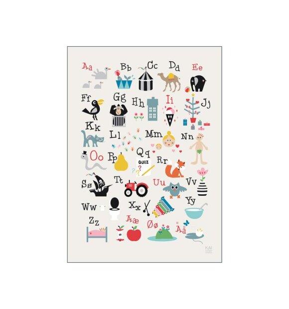 Poster and Frame - Kai ABC 50*70